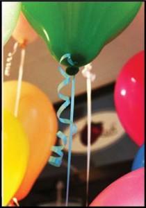 helija baloni