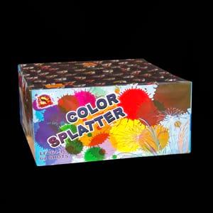 Color splatter