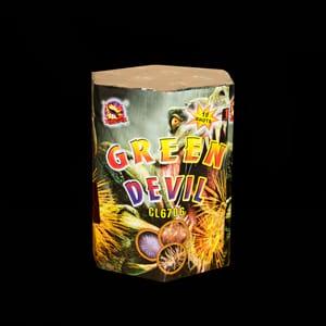 Saluta baterija green devil