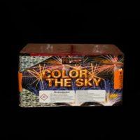 salūta baterija Color the sky