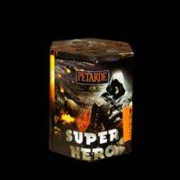 salūta baterija-super-hero