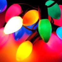 ziemassvētku lampiņas