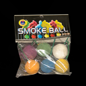 Krāsainas dūmu bumbiņas