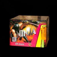pirotehnikas baterija Ninja